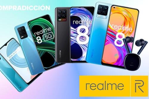 Ofertas Realme en Amazon: smartphones 5G o auriculares true wireless con cancelación de ruido a precios de derribo