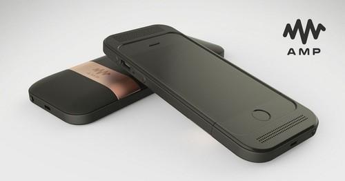 Amp audio quiere llevar el sonido HiFi hasta tu iPhone con esta carcasa-tarjeta de sonido