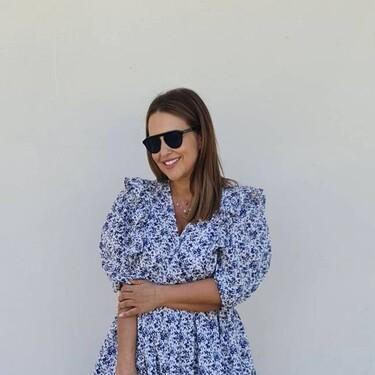 Paula Echevarría inspira nuestros looks primaverales  con un vestido de H&M de menos de 30 euros