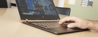 HP Spectre 13 al mejor precio en El Corte Inglés: un ultrabook con i7 7500U, 8 GB RAM, SSD de 256GB por 868 euros