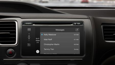 Mensajes CarPlay