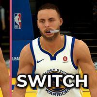NBA 2K19: la versión de PS4 y la de Nintendo Switch frente a frente en un gameplay a pantalla dividida