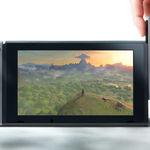La pantalla táctil de Nintendo Switch se deja ver en funcionamiento por primera vez