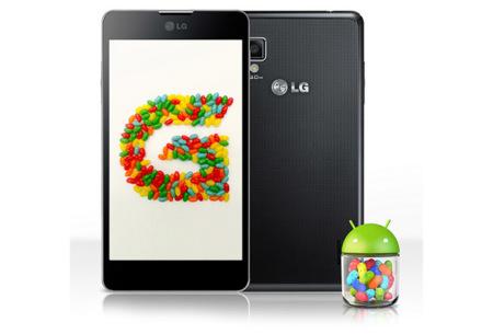 LG anuncia su calendario de actualizaciones a Jelly Bean