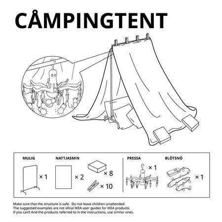 Ikea Tienda Campana