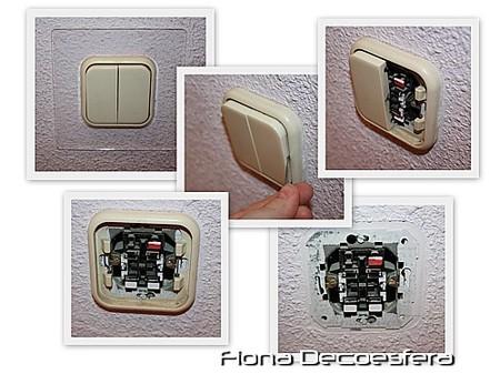 Desmontaje de interruptores