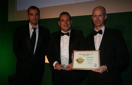 Nissan Leaf gana el premio a Vehículo Eléctrico del Año de GreenFleet