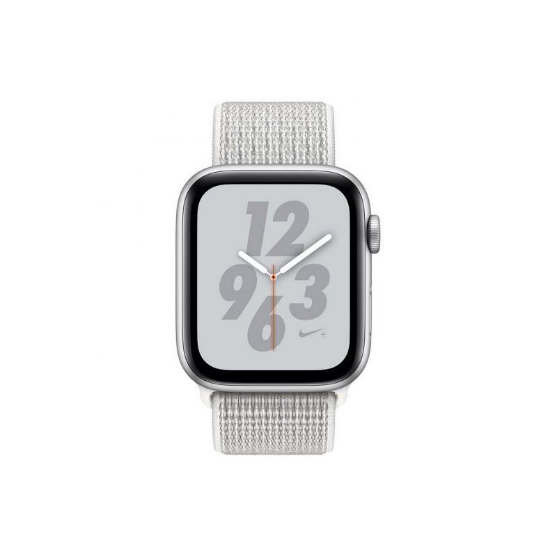 Apple Watch Series 4 Nike+ GPS+Celular 44mm gris plata, blanco polar
