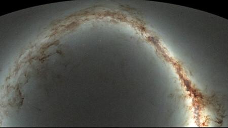 Ocupa 300 GB y es un catálogo de galaxias 3D que abarca tres cuartas partes del cielo