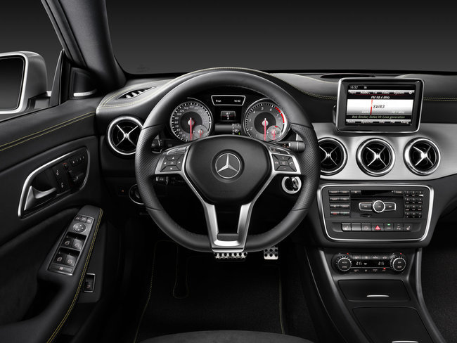 Mercedes-Benz CLA, vista interior
