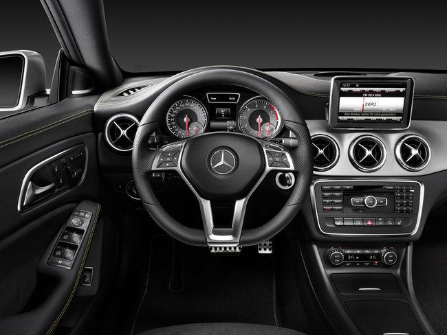 Mercedes-Benz CLA, vista interior