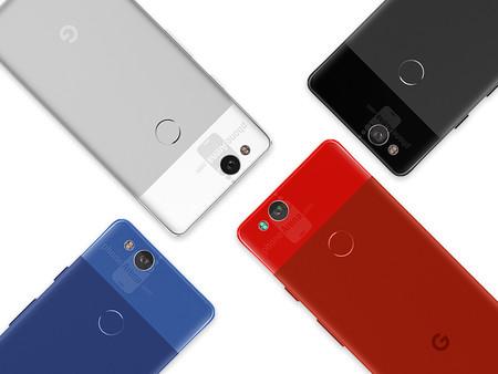 El Google Pixel 2 se deja ver con todo detalle, y en varios colores, en estas nuevas imágenes