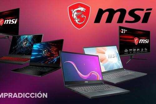 Tras el Prime Day, Amazon sigue teniendo ofertones en portátiles para trabajar y jugar y monitores gaming de MSI