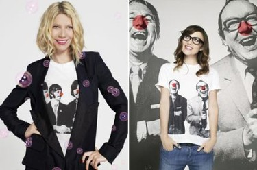 Camisetas solidarias de Stella McCartney con Keira Knightley y Gwyneth Paltrow