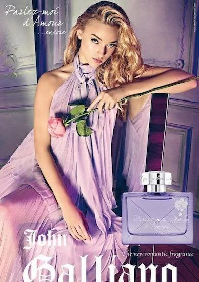 Las princesas urbanas ya tienen su perfume: Parlez-Moi d'Amour Encore de John Galliano