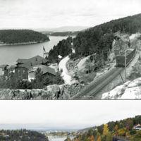 Paisajes de ayer y hoy en Noruega