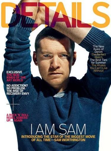 Sam Worthington en la nueva portada de Details Magazine