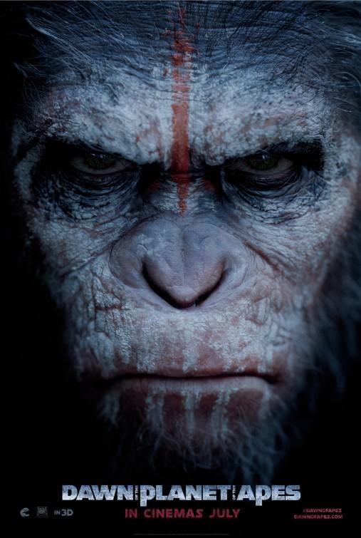 Foto de 'El amanecer del planeta de los simios', carteles (1/9)