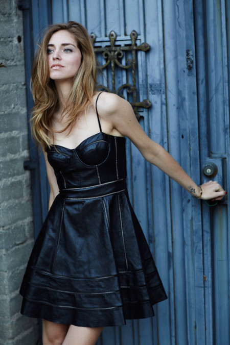 The Blonde Salad Leather Dress