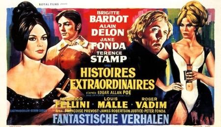 Añorando estrenos: 'Historias extraordinarias' de Roger Vadim, Louis Malle y Federico Fellini