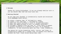 FoldingText, algo más que un editor de texto con Markdown para OS X