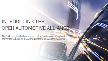 Google quiere llevar Android a los coches y monta la Open Automotive Alliance