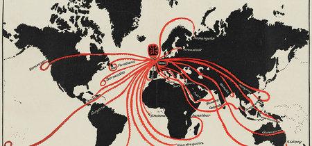 El pulpo como sinónimo de dominación mundial, en 12 preciosos (y algo paranoicos) mapas históricos