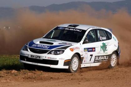 Brice Tirabassi debuta con victoria en el Rally Palma del Río