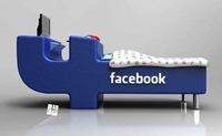 FBed, la cama en la que duermen los apasionados de facebook