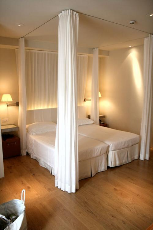 Encuesta camas de matrimonio o individuales for Cortinas para dormitorio matrimonial