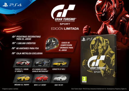 Gt Sport Contents Limited Ed 18751