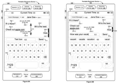 Una nueva patente de Apple revela un iChat en el iPhone