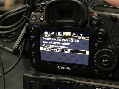 Actualización de firmware para trece cámaras Canon, Nikon, Panasonic, Pentax y Sony