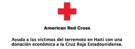 Ayuda a las víctimas de Haití donando a la Cruz Roja desde iTunes
