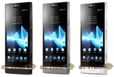 Sony Xperia SL, tres nuevos colores y procesador a 1.7GHz