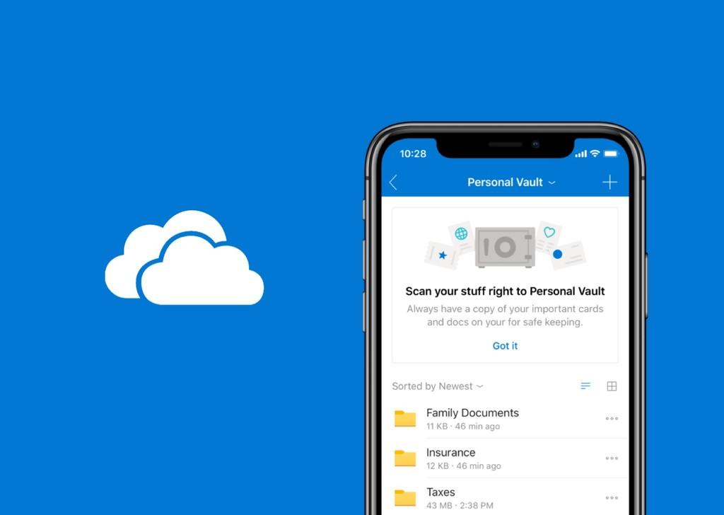 Microsoft añade una capa extra de seguridad con OneDrive Personal Vault: autenticación 2FA para los archivos más sensibles