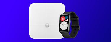 """Controla los excesos navideños con el pack Huawei Watch Fit y la báscula """"smart"""" de la firma por 109 euros en su tienda oficial"""