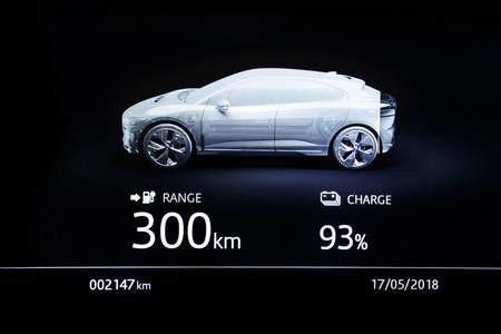 Jaguar I-PACE Interior detalle autonomía