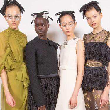 Las 16 tendencias de maquillaje y pelo para 2020 más modernas y bonitas de la Semana de la Moda de París
