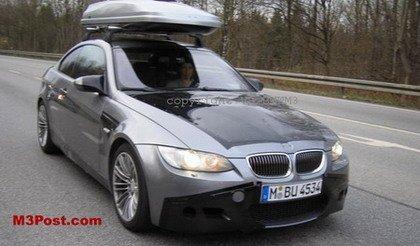 Más fotos espía del BMW M3 2007: interior y exterior