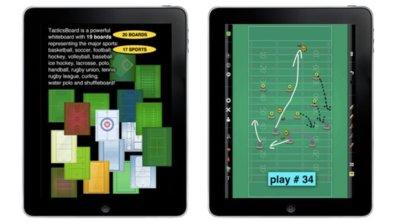 TacticsBoard, la pizarra del entrenador en tu iPad