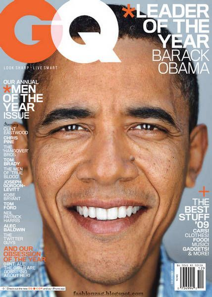 GQ Cover Obama