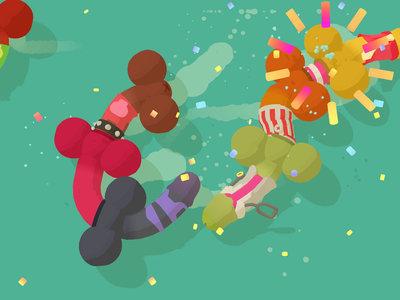 Genital Jousting, el nuevo juego de los responsables de Broforce, está protagonizado por penes