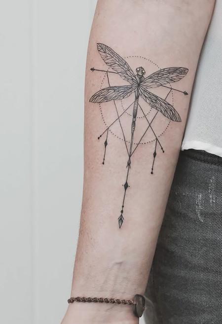 Geometrical Tattoos Jasper Andres 9