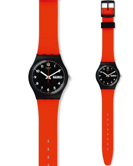 Swatch Red Grin 2