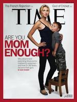 """""""¿Eres lo suficientemente madre?"""": la crianza con apego portada de Time"""