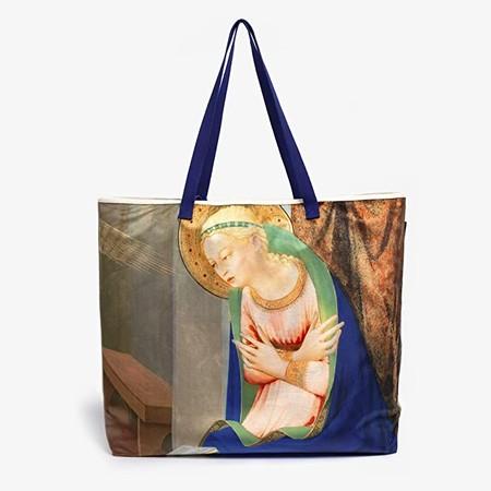 Bolsa Magnum Museo Del Prado 22angel Y Virgen Fra Angelico 22