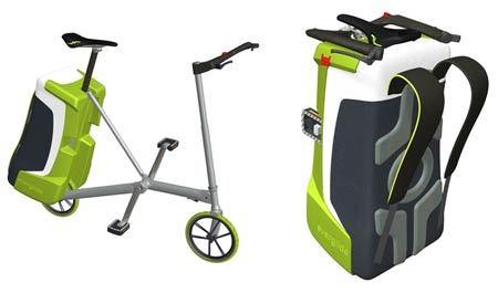 Everglide, con la bici en la mochila