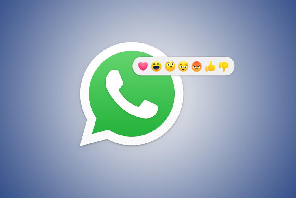 WhatsApp trabaja en permitir añadir reacciones a sus mensajes, según WaBetaInfo: una forma de escribir mucho menos