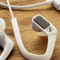 Auriculares Sennheiser AMBEO Smart para iPhone o iPad con los que captar sonido de vídeo 3D, en Amazon por 96,28 euros